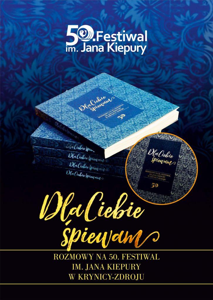 Promocja książki wydanej zokazji 50. Festiwalu im.Jana Kiepury.