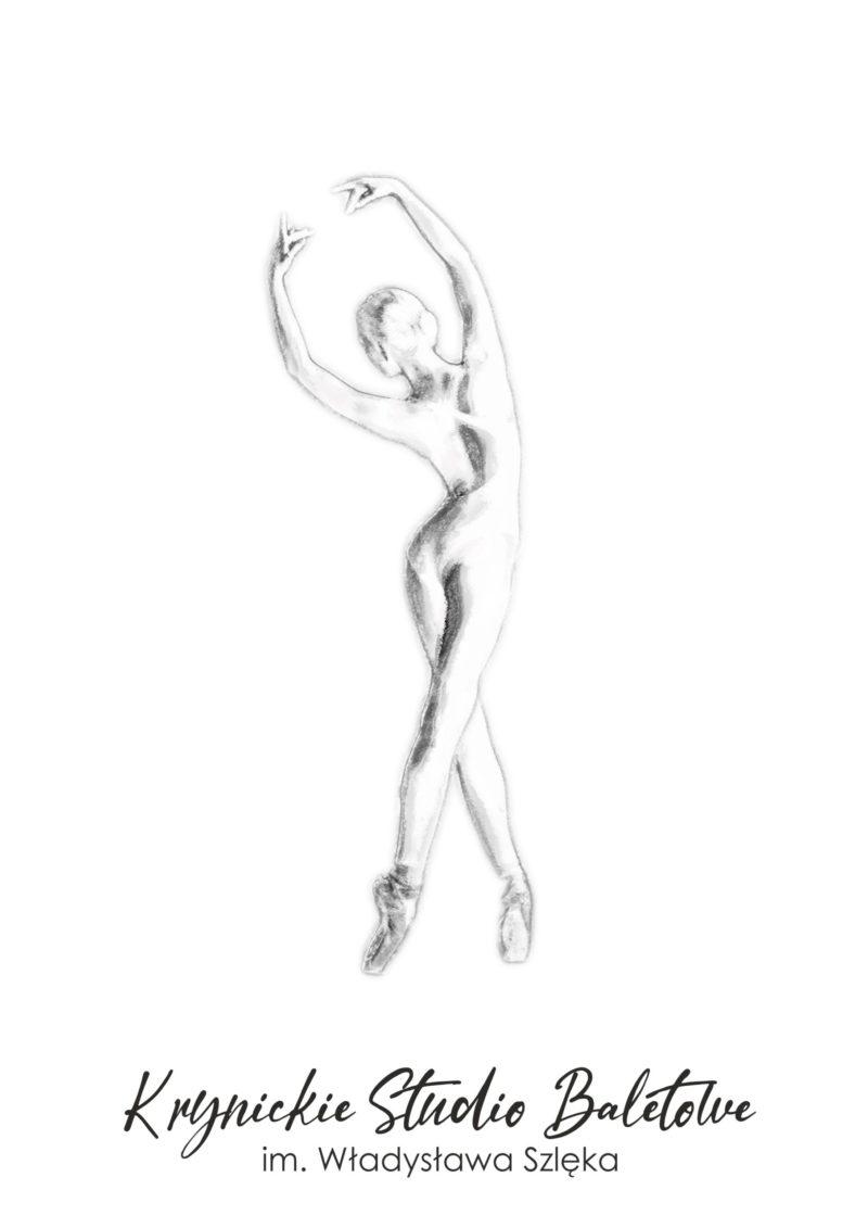 Krynickie Studio Baletowe - projekt logo